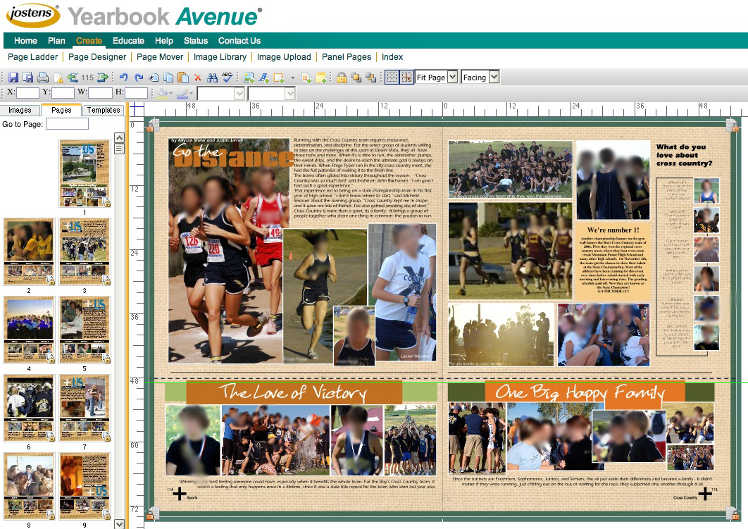 Jostens Yearbook Avenue